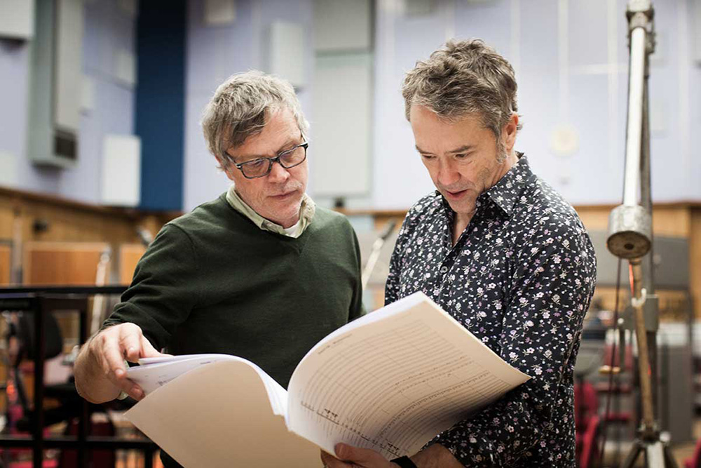 Wonderstruck scoring sessions - Carter Burwell