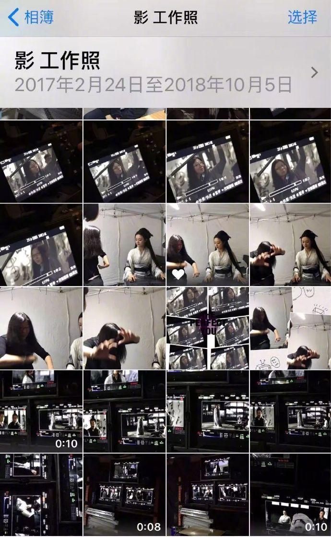 董穎達附上了手機相簿的截圖,可以看到多位演奏家演奏畫面,還有指導孫儷演奏的照片。(照片來源:董穎達微博)