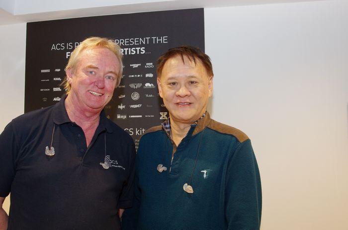 ACS創辦人Andy Shiach(左)與台灣分公司創辦人Michael Tang(右)
