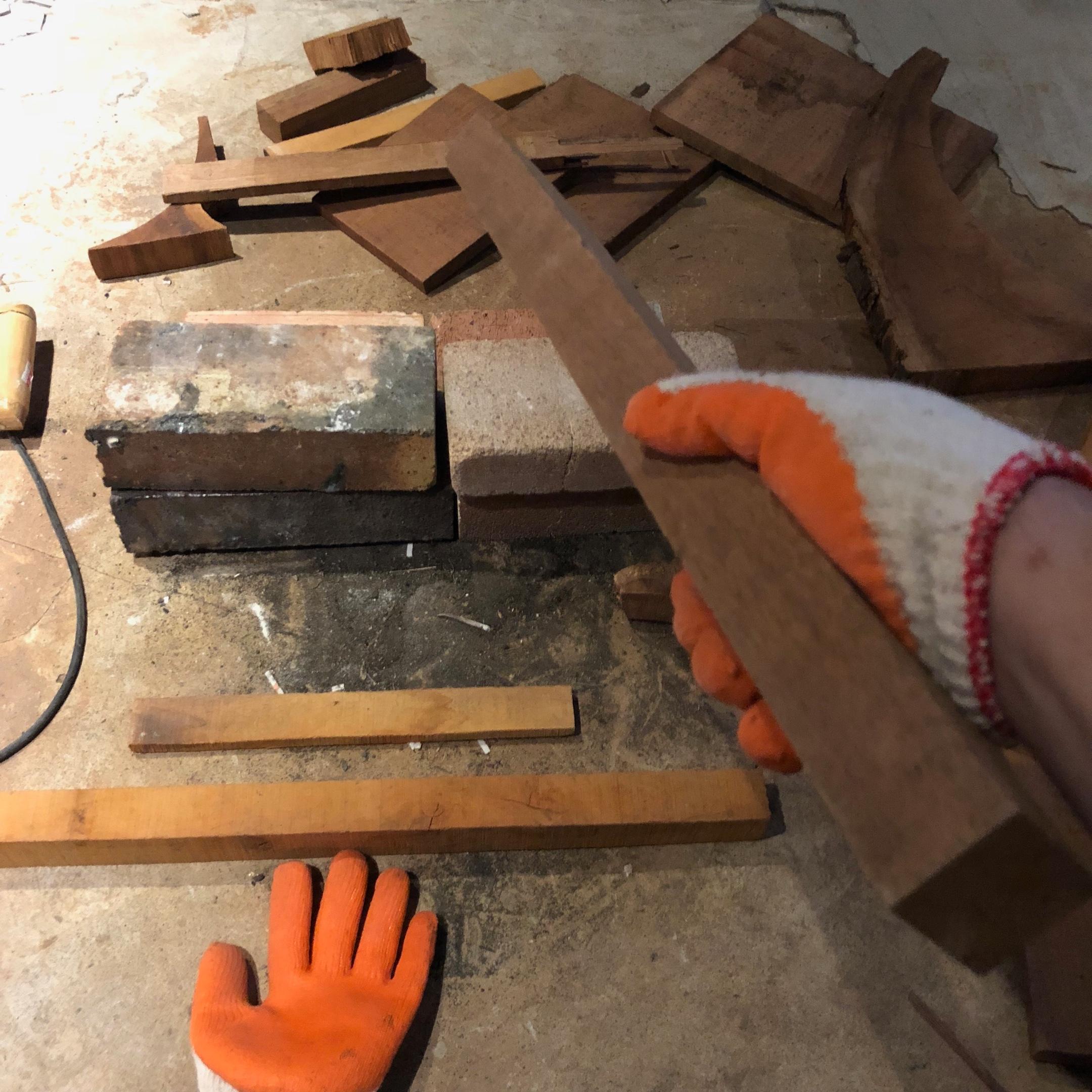 Foley道具(照片提供:好多聲音)